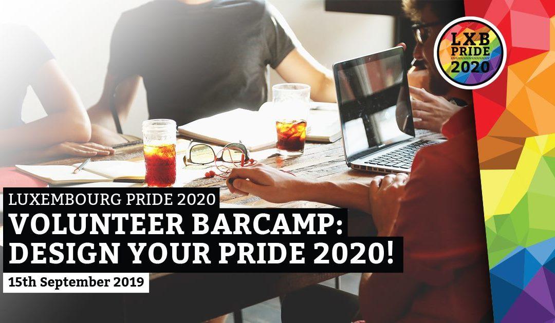 [:en]15.09.2019 1st Volunteer Barcamp for the LXB Pride 2020[:de] 15.09.2019 1. Freiwilligen Barcamp für den LXB Pride 2020[:fr] 15.09.2019 1er Barcamp des bénévoles de la LXB Pride 2020[:lu] 15.09.2019 1. Volontär Barcamp fir den LXB Pride 2020[:]