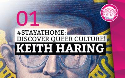 #StayAtHome 01: Keith Haring