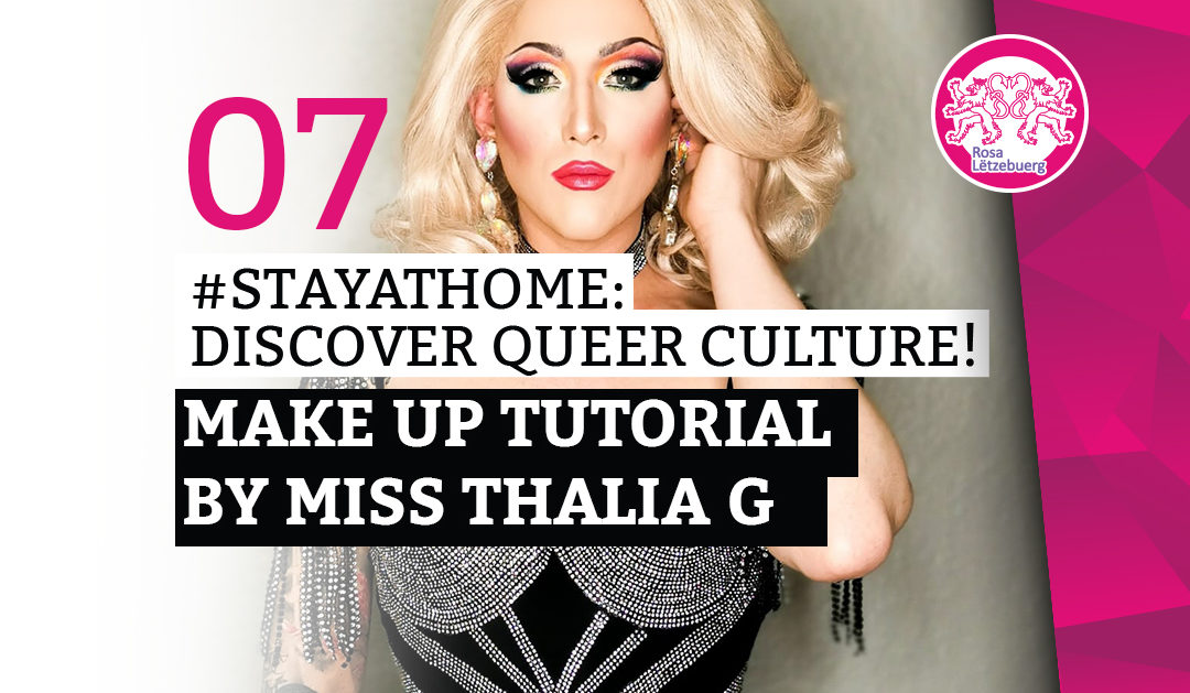 #StayAtHome 07: Make Up Tutorial by Miss Thalia G
