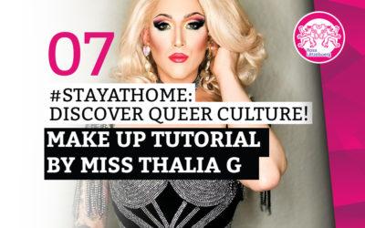#StayAtHome 07: Make Up Tutorial by Miss Thalia G