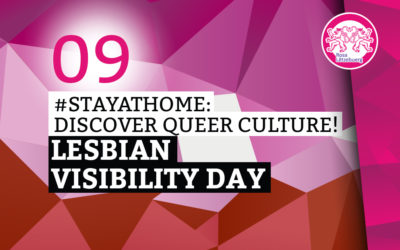 #StayAtHome 09: Lesbian Visibility Day