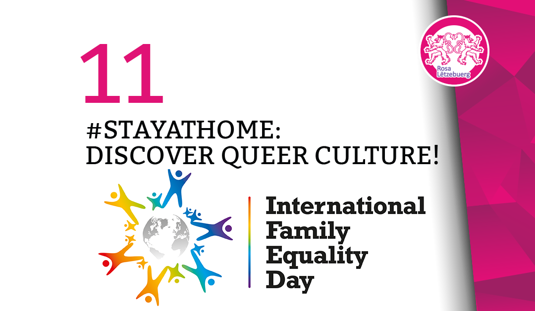 #StayAtHome 11: International Family Equality Day