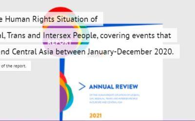 ILGA Europe: Annual Report 2020