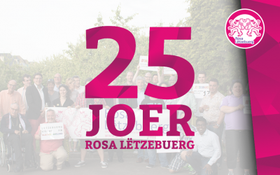 25 years of Rosa Lëtzebuerg: share your story!